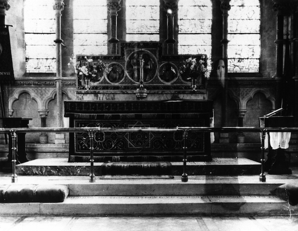 Newby Church Ghost