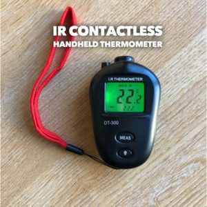 IR CONTACTLESS HANDHELD THERMOMETER
